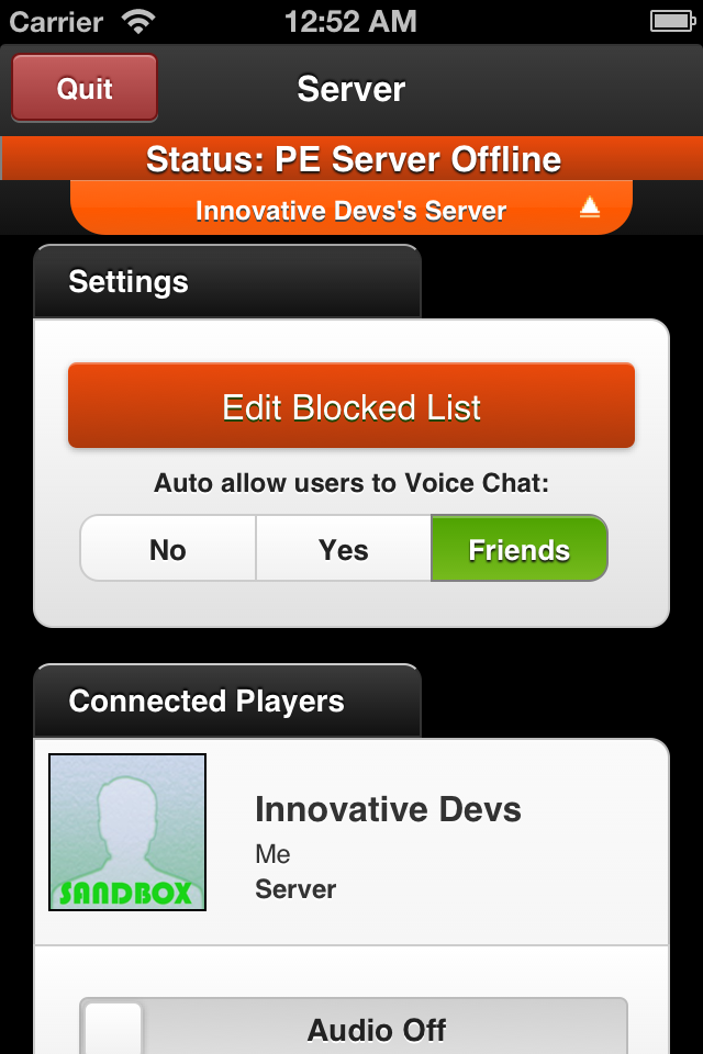Multiplayer for Minecraft PE iPhone